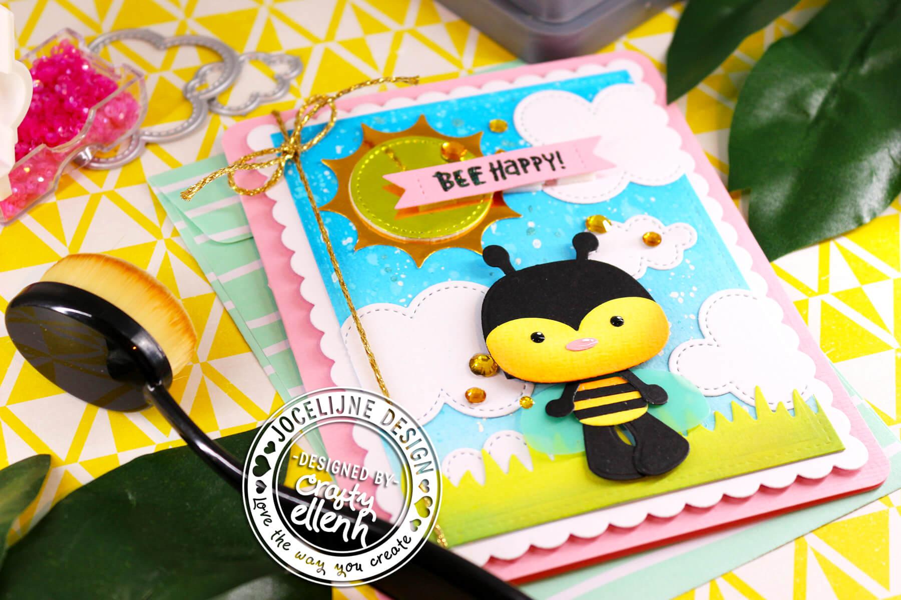 Bijen swap kaartje